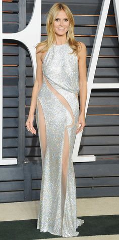 Heidi Klum's Best Red Carpet Looks Ever  - In Atelier Versace, 2015  - from InStyle.com