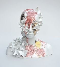 New Porcelain Sculptures That Merge Female Forms With Elements of Nature by Juliette Clovis