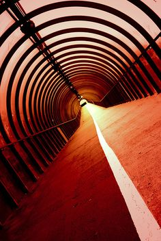 Glasgow Tunnel by the SECC, Scotland by Semi-detached on Flickr.