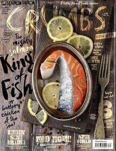 Crumbs nr 48 april 2016 by Cristina Tubelli - issuu Food Graphic Design, Food Poster Design, Menu Design, Food Design, Graphic Design Inspiration, Food Inspiration, Dm Poster, Poster Layout, Print Layout