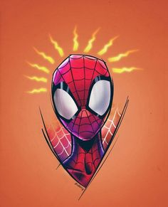 Marvel Drawing Spider-Man crosses parallel dimensions and teams up with the Spider-Men of those dimensions to stop a threat to all reality. All Spiderman, Spiderman Tattoo, Spiderman Drawing, Marvel Tattoos, Amazing Spiderman, Batman, Marvel Art, Marvel Heroes, Marvel Avengers