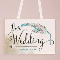 Feather Whimsy Directional Poster