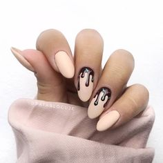 Matte Sky Blue False Nails Kit nails, including the double side false nail sticker Manicure Full Cover Nails Summer Acrylic Nails, Spring Nail Art, Cute Acrylic Nails, Spring Nails, Fun Nails, Diy Drip Nails, Acrylic Nails Almond Matte, Matt Nails, Manicure