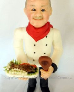 #koch  #cook #cozinheiro #caketopper #cake #topodobolo #topper #figur #geburstag #aniversario #torten #tortendeko #bolodeaniversario #geburtstagtorte #birthdaycake  #basteln  #artesanato #artesania #craft #modellierenmitfondant  #fondant  #porcelanafria #kaltporzellan #coldporcelain #biscuit #unikat #handmade #handarbeit #fimo #polymerclay