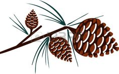 Decorating your home with these Christmas pine cone crafts design..