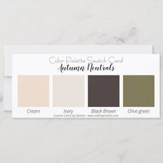 Envelope Labels, Soft Autumn, Neutral Colour Palette, Color Pallets, Black And Brown, Swatch, Create Yourself, Cards, Prints