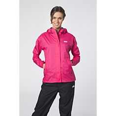 This light and versatile rain set for women is ideal for active outdoor use.