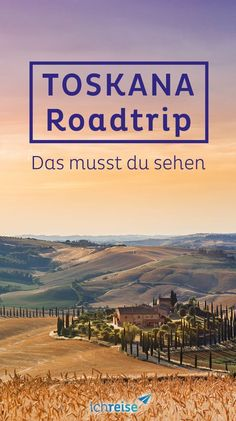 Was du auf einem Roadtrip durch die Toskana keinesfalls verpassen darfst – ichreise The is an incredibly diverse region and is probably one of the most beautiful in Italy. Reason enough for a trip. Road Trip Usa, Road Trip Packing List, Oregon Road Trip, East Coast Road Trip, Road Trip Essentials, Beautiful Places To Visit, Cool Places To Visit, Northern Lights Trips, Road Trip Playlist