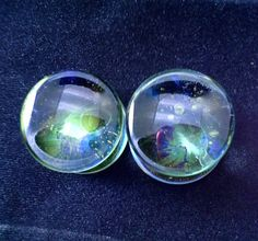 9/165/83/47/81 ANDROMEDA Ear Plugs Gauges for by Solitudestudio, $39.00