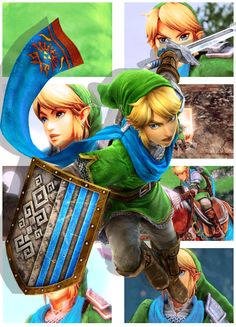 Hyrule Warrior Link The Legend Of Zelda: Hyrule Warrior © Nintendo