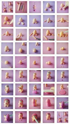 Fondant süni készítése kéepkben:-) Alapanagyokat és ételfestéket vásárolj a GlazurShopból! http://shop.glazur.hu