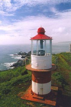 Faro de Quiriquina  Chile  photo by Servicio de Señalización Marítima
