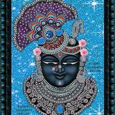 Wallpaper-world: Shreenathji chabi Little Krishna, Baby Krishna, Radha Krishna Photo, Krishna Art, Hanuman Images, Lord Krishna Images, Pichwai Paintings, Indian Art Paintings, Tanjore Painting