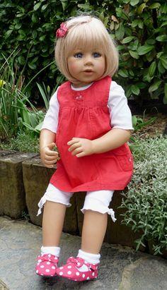 Dolls Masterpiece Gallery Limited Edition Artist Doll Sweet Dreams-chubby Cheeks Dolls & Bears
