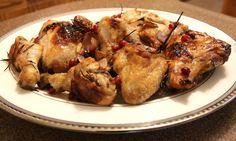 Pomegranate Molasses Baked Chicken