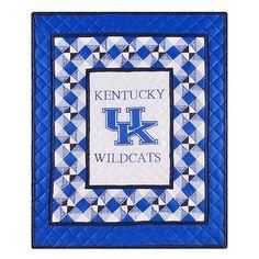 Kentucky Wildcats Patchwork Quilt $179.99