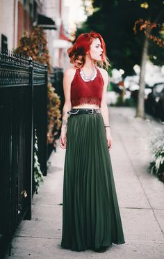 Top – River Island/ Skirt – She In/ Shoes – Shellys London/ Necklace (By Lua P)