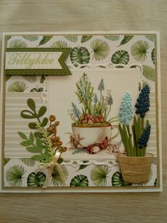Jan 2017, Marianne Design, Masculine Cards, Images, Canvas Art, Plants, Cards, Painted Canvas, Plant
