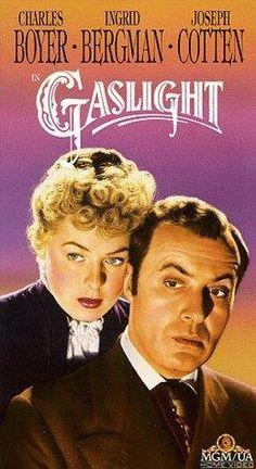 """Gaslight"", w/ Charles Boyer & Ingrid Bergman...♥"