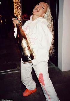 Christina Aguilera Stripped, Champagne Bottles, Bubble Bath, Burlesque, Cowboy Hats, Bubbles, Singer, Drinks, Mail Online
