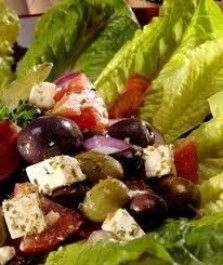 Feta Olive Mediterranean Salad with 25 Year Old Balsamic Recipe