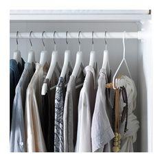 STAJLIG Multifunction hanger, white indoor/outdoor - white indoor/outdoor