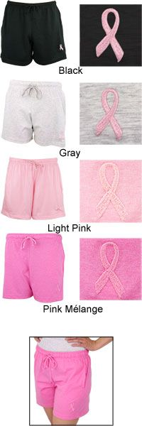 Pink Ribbon Women's Casual Shorts at The Breast Cancer Site # Viking Pink