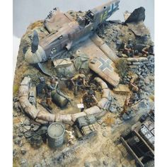 """S.A.S. Who Dares Wins!"" By Marcus Nieminen  From: Pinterest  #scalemodel #modelismo #miniatura #diorama #hobby #war #guerra #cenário #miniatur #maqueta #maquette #modelismo #plastickits #plasticmodel #plamodel #usinadoskits #udk #soldiers #airplane #aeronave #dio"