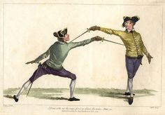 Fencing was a popular sport among the English aristocracy, primarily learned on the Continent until the Italian fencing master Domenico Angelo Malevolti Tremamondo established his fencing school in London.
