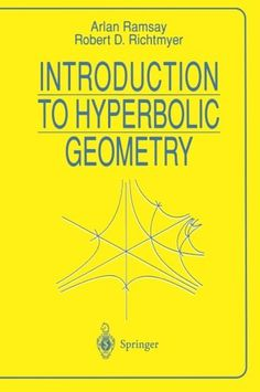 Introduction To Hyperbolic Geometry free ebook Hyperbolic Geometry, Trigonometry Worksheets, Euclidean Geometry, Mathematics Geometry, Robert D, Math Help, Math Books, Book Format, Free Ebooks