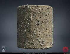 ArtStation - PBR Procedural Dirt & Pebbles Material Study, Joshua Lynch