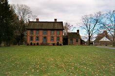 Dey Mansion Totowa NJ home to Washington 7/1/1780 - 7/28/1780