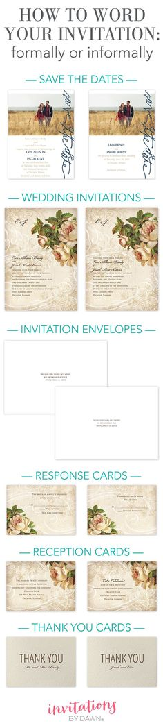 Before your order your wedding invitation; check the list! Because - formal invitation acceptance letter template