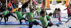 No fim de semana o Sesc Santana oferece BrincaYoga para crianças