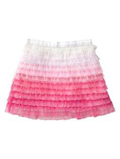 Gap | Ombre tulle skirt