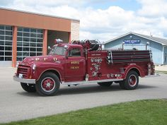 Old Fire Trucks | Paris, ON Antique Fire Truck | Flickr - Photo Sharing!