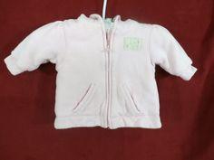 RALPH LAUREN GIRLS 3 Months Pink Hoodie Sweatshirt Everyday 100% Cotton Fall #RalphLauren #Jacket #Everyday