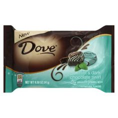 dove chocolate mint swirl