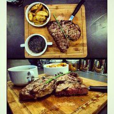T-bone steak  Brothers eatery&drink