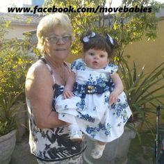 Bonecas parecidas com bebe de verdade...
