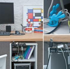 Aprenda a organizar cabos e fios espalhados pela casa - Casa