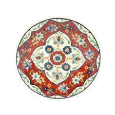 R$ 34,90 Prato Sobremesa Porcelana Istambul 23,5cm - Home Style