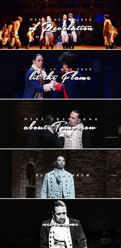 from the table in the corner they could see a world reborn #hamilton