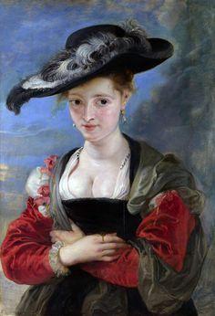 Rubens - le-chapeau-de-paille-vers-1625
