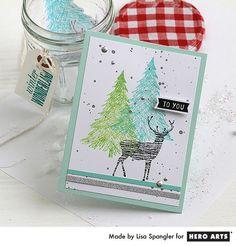 Hero Arts Cardmaking Idea: Winter Wonderland