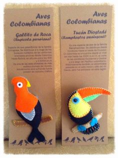 Feliz: Colección Aves colombianas