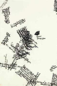 """John Cage, Mushroom Book, Plate VIII, 1972.  Lithograph. 22.5"""" H x 15"""" W.  (Image © John Cage Trust at Bard College)"""