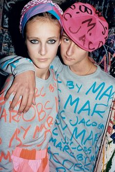 Ad Campaign: Marc by Marc Jacobs Spring/Summer 2013  Photographer: Juergen Teller