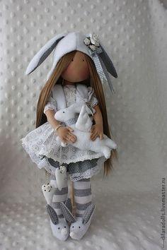 Коллекционные куклы ручной работы. Ярмарка Мастеров - ручная работа текстильная куклаAVERY продана. Handmade.