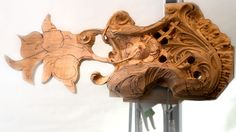 Wood Carving Grinling Gibbons Style - Grabovetskiy School of Wood Carving Online https://grabovetskiy.com/school